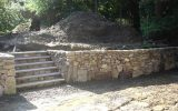 Retaining Wall Material – Natural Stone, Concrete Blocks, Wood Timbers