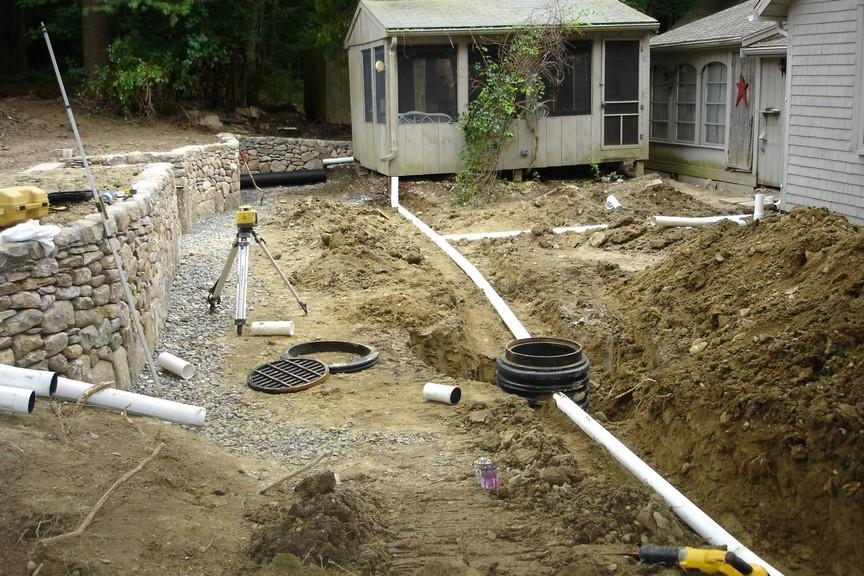 Drainage Ideas For Backyard