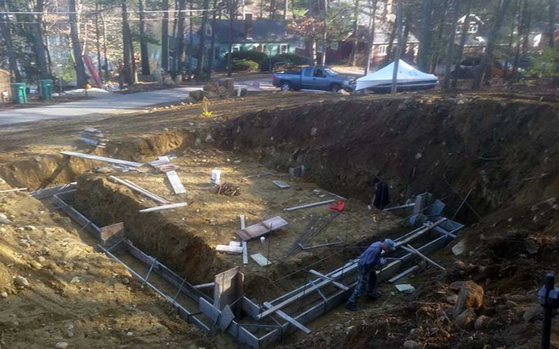 Excavation and Foundation for New Barn - Stow MA 01775