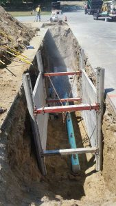 Trench Excavation Safety System