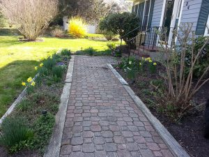 Old walkway - Wood rotted and in need of replacement