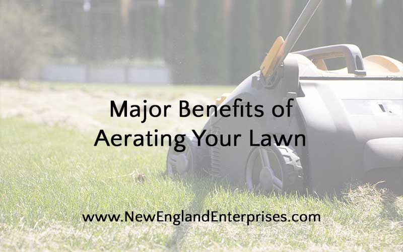 benefits of aerating lawn
