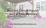 Pros and Cons of Popular Deck and Patio Materials