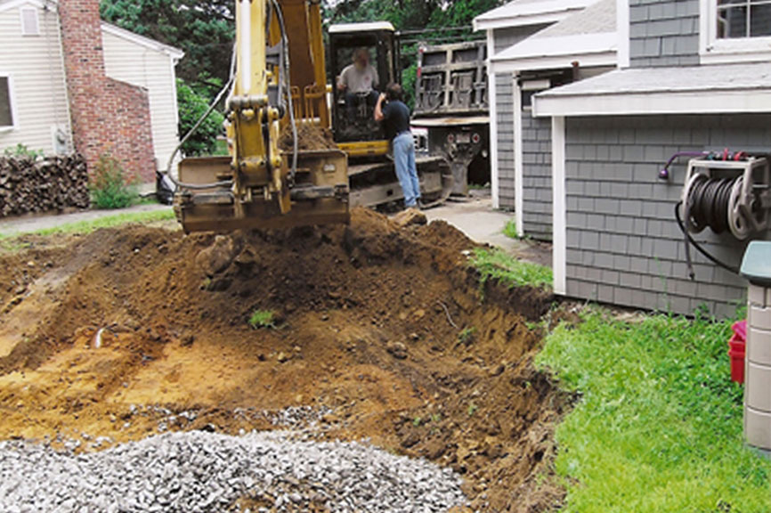 New England Enterprises - Driveway Excavation