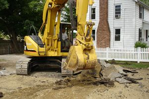 foundation excavation process