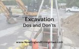 Excavation Dos and Don'ts