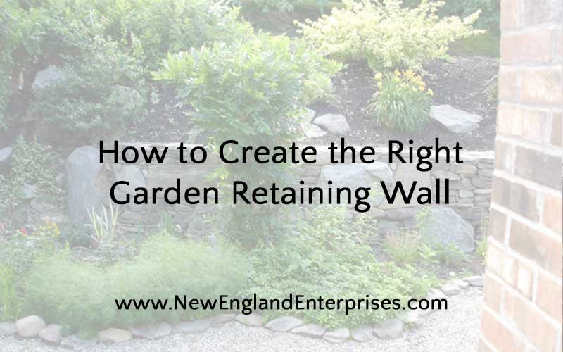 How to Choose a Garden Retaining Wall