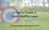 6 Tips to Create a Green, Healthy Lawn
