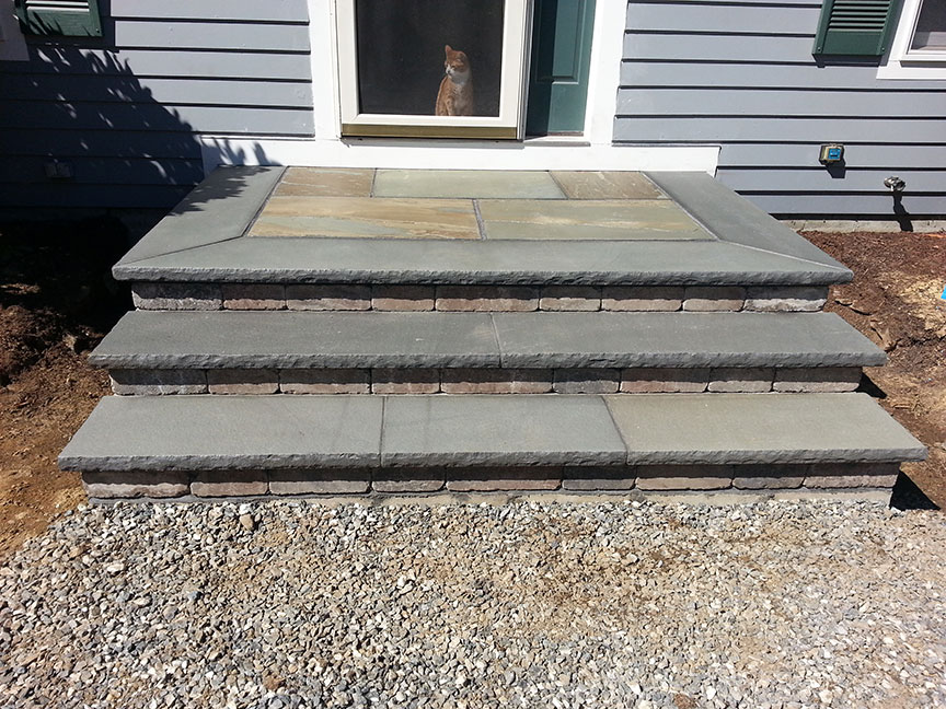 porch with landing front walkway landing construction