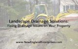 Landscape Drainage Solutions: Fixing Drainage Issues on Your Property