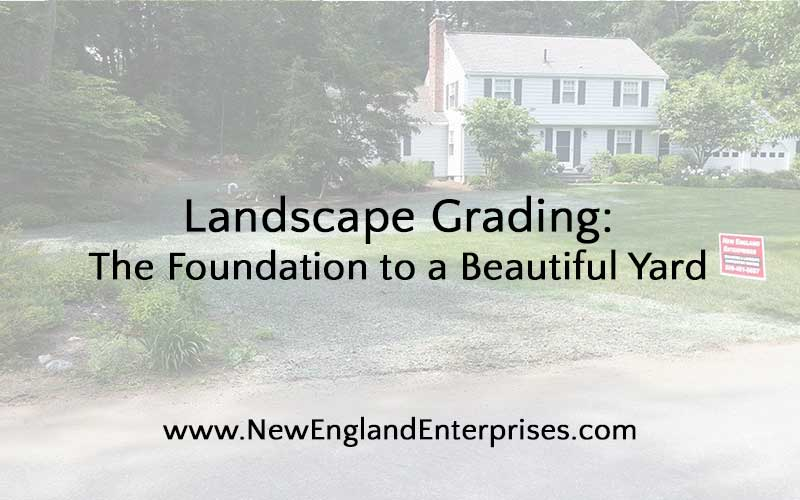 Landscape Grading: The Foundation to a Beautiful Yard
