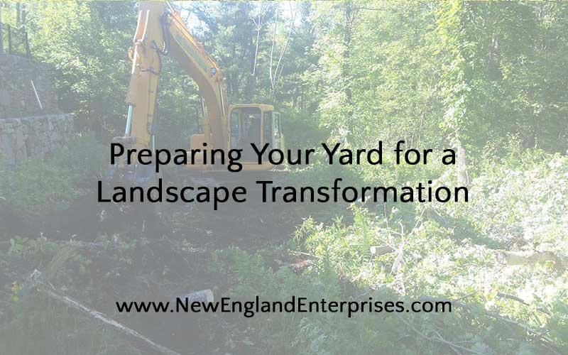 Preparing Your Yard for a Landscape Transformation