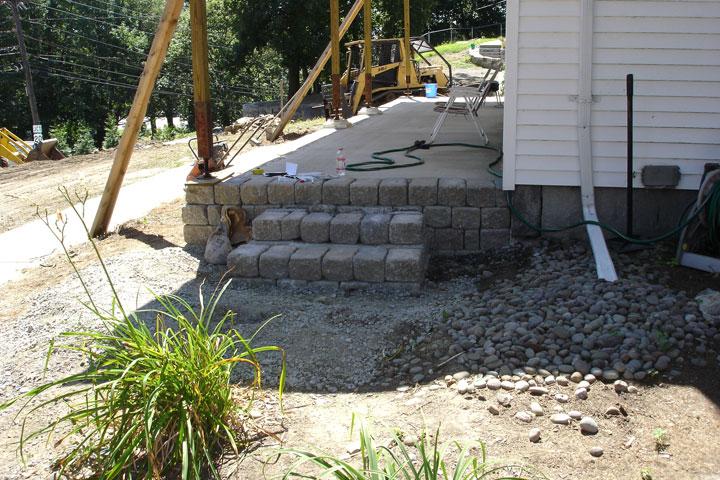 Farmer's porch construction