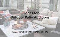 Ideas for Outdoor Patio Additions