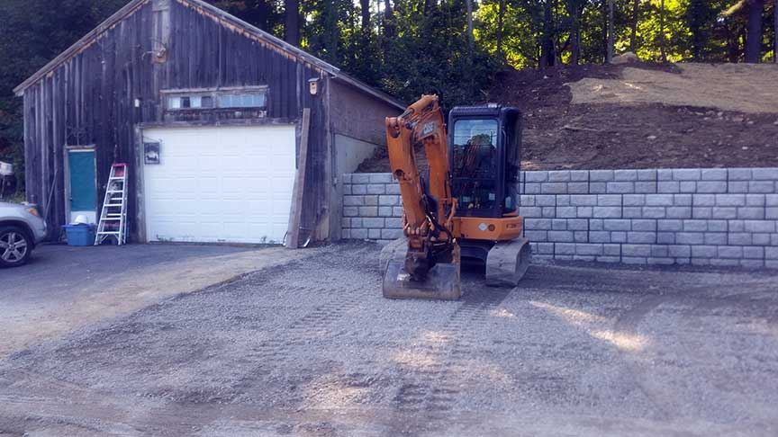 Retaining Wall - Stow, MA 01775