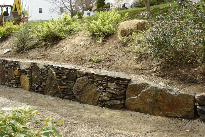 Retaining Wall Design Landscape Retaining Wall