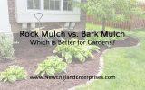 Rock Mulch vs. Bark Mulch – Which is Better for Gardens?