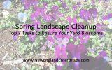 Spring Landscape Cleanup – Top 7 Tasks to Ensure Your Yard Blossoms