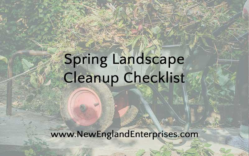 Spring Landscape Cleanup Checklist