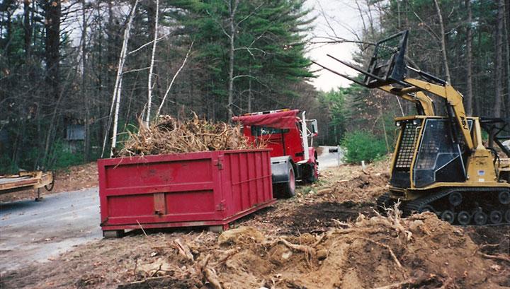 Dumpster Project, New England Enterprises, Marlborough, MA