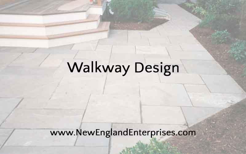 Walkway Design - Create An Interesting Yard Detail